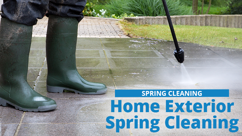 How to Spring Clean the Outside of Your Home