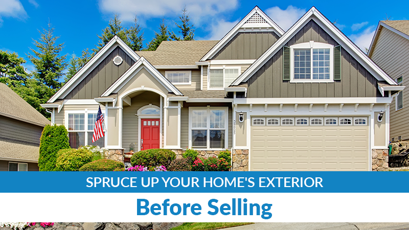 Spruce Up Your Home's Exterior Before Selling