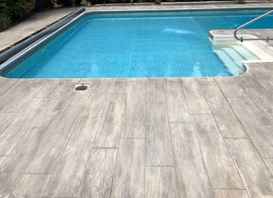 14 Pool Patio Overlay After Wood Plank Design