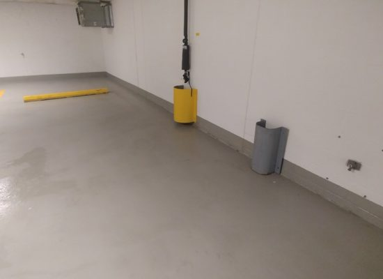 2 After (epoxy Garage Floor)