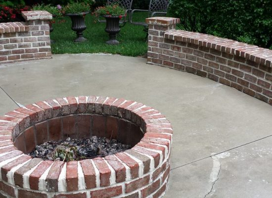 5 Patio with Fire pit After