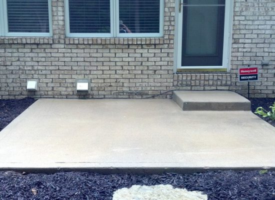9 Concrete Patio After